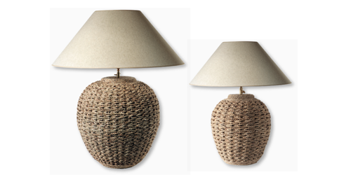 Luminaires - lampe cordage - Bellino Lighting
